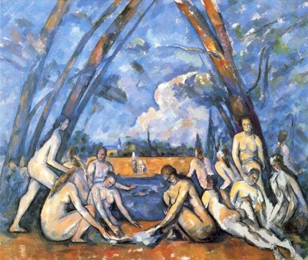 The Large Bathers, Paul Cézanne, 1906
