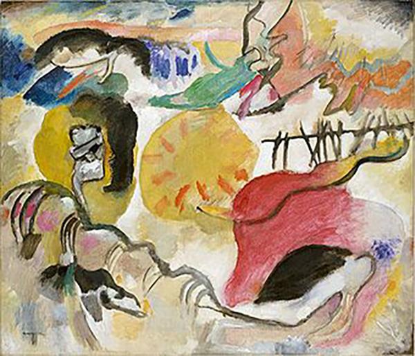 Garden of Love II, Vassily Kandinsky, 1912